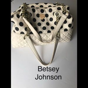 Betsey Johnson purse size 15 x 10 x 6